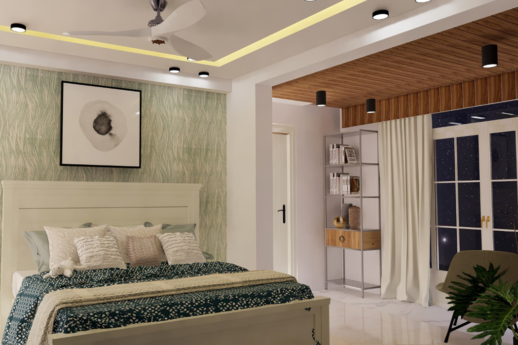 bedroom interior by Studio Square Design Co by Studio Square Design co.